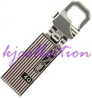 PNY Transformer Attache 4GB 4G USB Flash Drive Swing Hook Metal Lot of 5pcs 751492357232