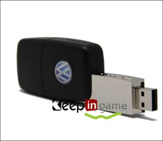 Cool 16GB USB 2 0 Flash Memory Stick Drive Pen Volkswagen Car Remote Key Model
