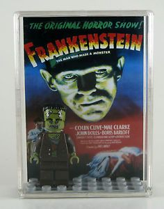 Lego® Universal Monster Fighters Minifigure Display Case w Frankenstein 9466
