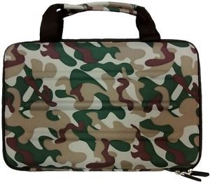Microsoft Surface Pro 2 RT Deluxe Camo Hard Shell Zippered Travel Case Eva
