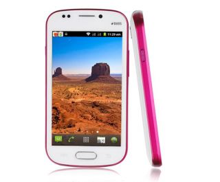 "New 4"" Multi Touch Android 4 0 Smart Phone Dual Sim WiFi Unlocked at T T Mobile"