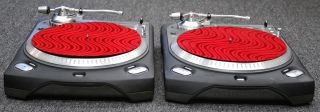 Numark TTX Professional Direct Drive Turntables Set of 2 Non USB