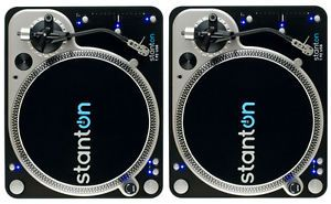 2 Stanton T 92 USB Direct Drive Turntables Twin Turntable DJ Set SEALED Mint