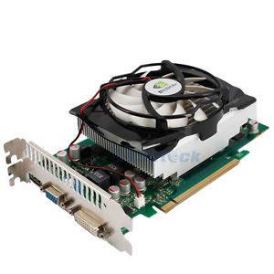 GeForce 9800GT 512MB PCI Express DDR3 256 Bit Graphics Video Card HDMI DVI VGA