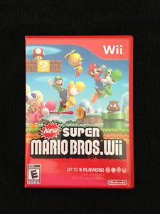 New Super Mario Bros Wii Figures