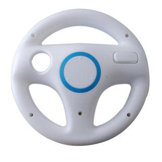 Steering Wheel for Nintendo Wii Mario Kart Racing Game Remote Controller
