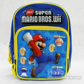 Super Mario Bros Wii Mini Backpack