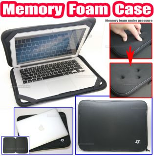 "For Apple MacBook Air 11 11 6"" inch Memory Foam Case Cover Soft Bag Sleeve Black"
