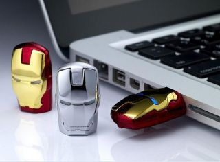 New Avengers Iron Man LED Flash 256GB USB Flash 2 0 Memory Drive Stick Pen F S