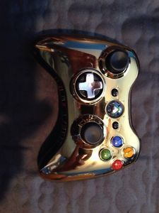 Limited Edition Star Wars Gold C 3PO Xbox 360 Wireless Controller
