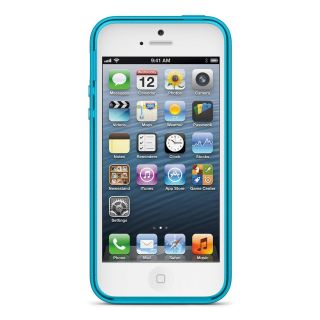 New Gravel Reflection Blue Belkin Sheer Candy Grip Cover Case for Apple iPhone 5