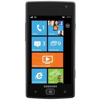 Samsung Focus Flash SGH i677 Microsoft Windows Phone Unlocked GSM Smartphone