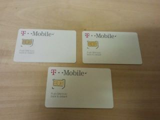 Brand New T Mobile Micro Sim Card 4G Unactivated