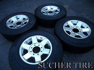 "Dodge 2500 3500 Pickup 17"" Factory 1QR35AAAAA Wheels Rims Michelin Tires"