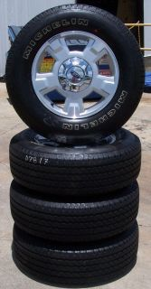 "2009 2013 Ford F150 17"" Factory Alloy Wheels with Michelin Tires Set of 4"