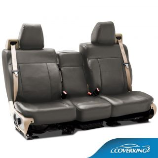 Chevy Silverado 3500 Coverking Rhinohide Custom Fit Seat Covers Front Row