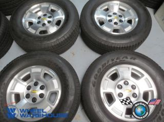 Four 07 13 Chevy Tahoe 1500 Silverado Factory 17 Wheels Tires Rims 5299
