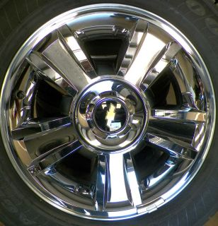 "20"" Chevy Silverado Suburban Tahoe Wheels Goodyear Tires 275 55 20 897B"
