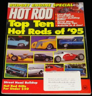 December 1995 Hot Rod Magazine Top Ten Hot Rods of '95