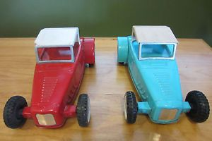 2 Nylint Ford Hot Rods Vintage Pressed Steel