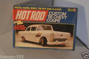 Revell 1956 56 Custom Chevy Coupe Hot Rods Parts Model Car Kit