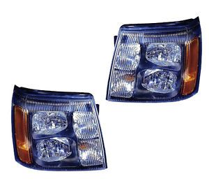 2002 Cadillac Escalade Performance Headlight Assembly Pair