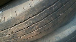 3 Power King Highway Radials 11R24 5 Truck Tires on Wheels