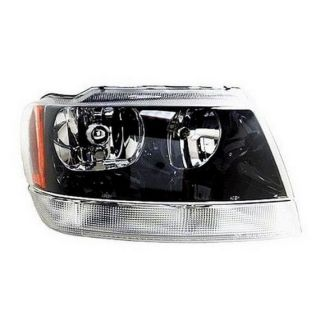 2002 2004 Jeep Grand Cherokee New Headlight Assembly Right Passenger Side RH
