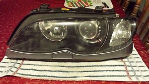 2002 2005 BMW E46 323 325 328 330 Left Xenon Headlight Assembly Original BMW