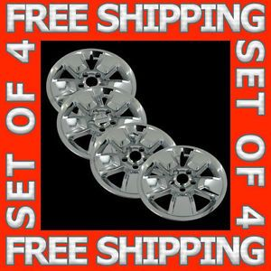 "08 11 Jeep Liberty 16"" Chrome Wheel Skins Hubcaps Covers Hub Caps Set Free SHIP"