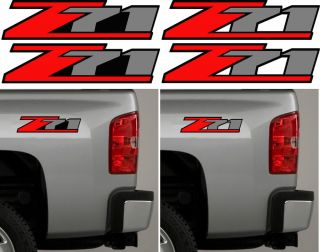 2 Z71 Offroad 4x4 Side Chevy GMC Silverado Truck Decals Factory Replacement
