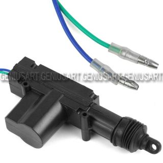 12V Car Auto Plastic Universal Heavy Duty Power Door Lock Actuator Motor 2 Wire