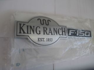 New 2009 2012 Ford F 150 King Ranch Pickup Truck Emblem Tailgate F 150