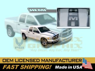 2003 2004 2005 2006 2007 2008 2009 Dodge RAM 1500 Hemi Truck Decals Stripes Kit