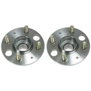 Honda Acura Civic w ABS Rear Wheel Hub Bearing Assembly Pair Set