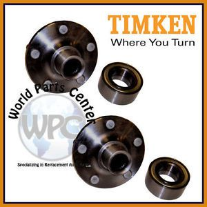 TIMKEN 2 Front Wheel Bearing Hub Assembly Fits Dodge and Plymouth Neon 5 Lug