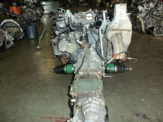 Subaru WRX Impreza JDM EJ20T DOHC Turbo Engine Motor 1993 1994 TURBOCHARGED Used