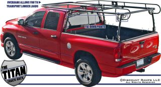 Universal Pickup Truck Ladder Contractor Rack Lumber