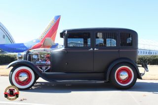 1929 Ford Model A 4 Door Sedan Street Rod Custom