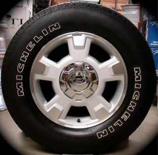 "New Ford F150 F 150 17"" Factory Wheels Rims Michelin Tires 2004 14 Free SHIP"