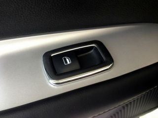 Chrome Door Switch Inside Handle Cover Tirm for 2013 Fiat Freemont