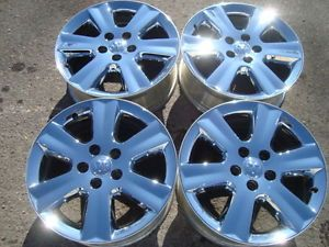 "4 Dodge Journey Factory 19"" Chrome Aluminum Wheels 2009 2010 2011"