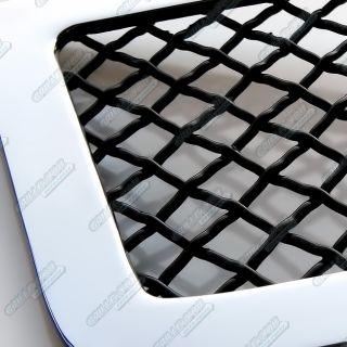 Fits 2011 2013 Dodge Journey SE Bumper Stainless Steel Black Mesh Grille Grill