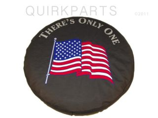 97 12 Jeep Wrangler or Liberty Tire Cover American Flag