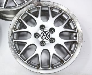 "Set of 4 16"" x 6 5"" Alloy Wheel Rims VW Jetta Golf MK4 BBs RX2 Genuine OE"