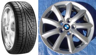 "BMW 323 325 328 330 335i 18"" Wheels Pirelli Winter Snow Tires 225 40R18"