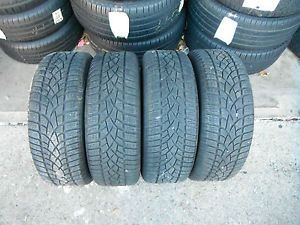 4 Excellent Subaru WRX STI 16x6 5 Wheels 205 55 16 Dunlop SP Winter Snow Tires