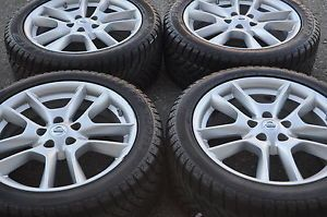 "18"" Nissan Maxima Wheels Rims Tires 2008 2009 2010 2011 2012 2013 Winter Tires"