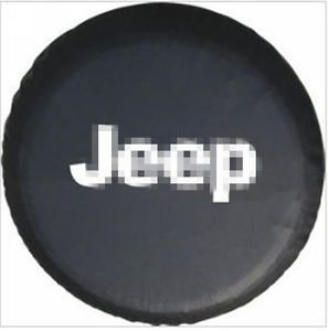 Spare Tire Cover Wheel Covers Fit 2002 2012 Jeep Liberty Wrangler Size 15''