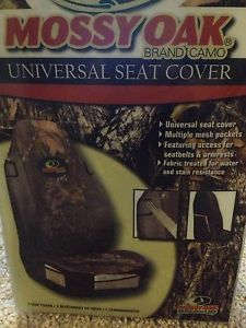 Brand New Universal Mossy Oak Camo Seat Cover Looks Great with An Otterbox